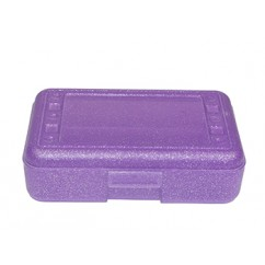 Pencil Box Purple Sparkle