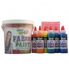 Handy Art Fabric Paint Sparkle Kit