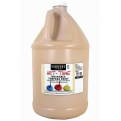 Washable Tempera Peach Gallon