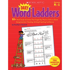 Daily Word Ladders Gr K-1