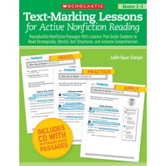 Text Marking Lessons For Active Non