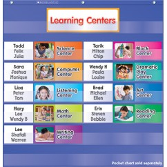 Learning Centers Pocket Chart Add