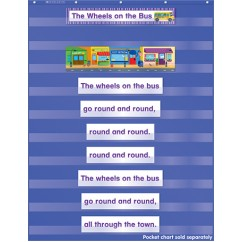 Favorite Kids Songs Pocket Chart