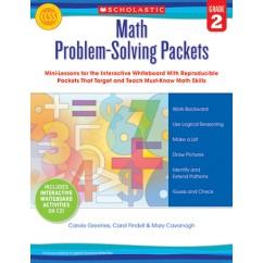 Math Problem Solving Packets Gr 2