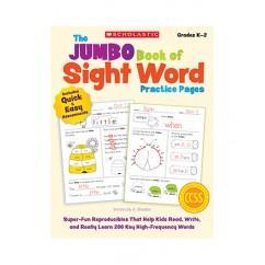 THE JUMBO BOOK OF SIGHT WORD