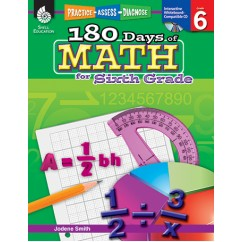 180 Days Of Math Gr 6