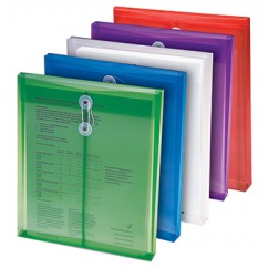 Poly Color Envelopes 5pk Assorted
