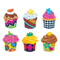 Bake Shop Cupcakes Classic Accents