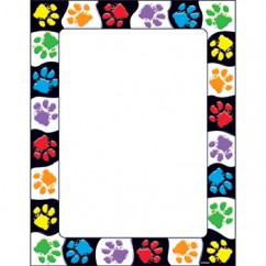 Paw Prints Terrific Papers
