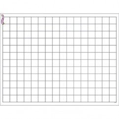 Graphing Grid Small Squares Wipe