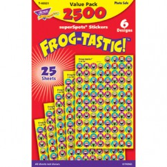 Frog Tastic Superspots Stickers