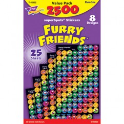 Furry Friends Superspots Stickers
