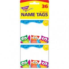 Owl Stars Name Tags