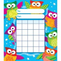 Owl Stars Incentive Pad