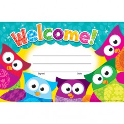 Welcome Owl Stars Recognition