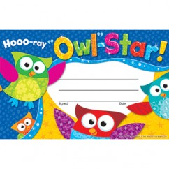 Hooo Ray Owl Star Recognition