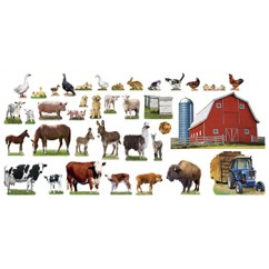 Animals On The Farm Bb Set