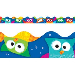 Owl Stars Terrific Trimmers
