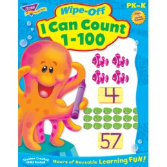 I Can Count 1-100 Wipe Off Book Gr