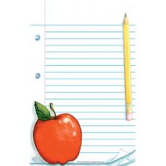 Notepad W/ Apple 50sht 5x8