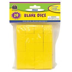 Foam Blank Dice