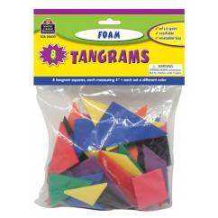 Foam Tangrams