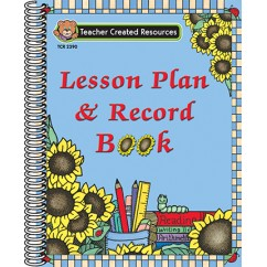 Lesson Plan & Record Book Sunflower