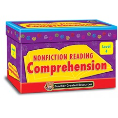 Nonfiction Comprehension Cards Lvl4