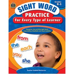 Sight Word Practice For Every Type
