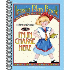 Lesson Plan Book Im In Charge Here
