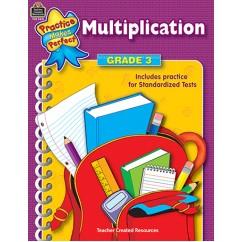 Multiplication Gr 3 Practice Makes