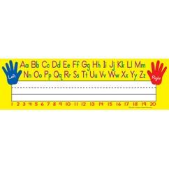 Left Right Alphabet 36pk Flat Name