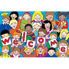 Kids Welcome Postcards 30pk