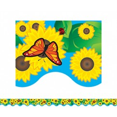 Sunflowers Border Trim