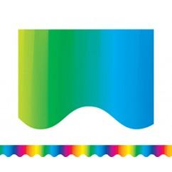 Multicolor Border Trim