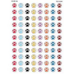 Me Puppy Paw Prints Mini Stickers