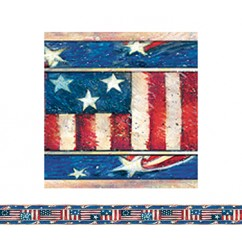 Sw Patriotic Straight Border Trim