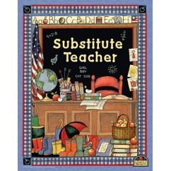 Sw Substitute Teacher Pocket Folder