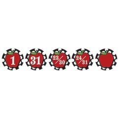 Circles & Apples Calendar Days