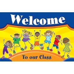 Fantastic Kids Welcome Postcards