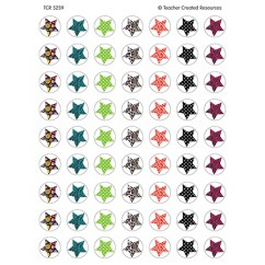 Fancy Stars Mini Stickers