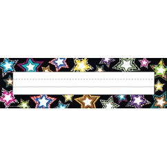 Fancy Stars Name Plates