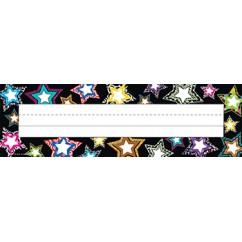 Fancy Stars Name Plates