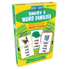 Vowels Short A Word Families Slide