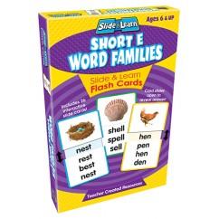 Vowels Short E Word Families Slide