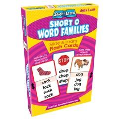 Vowels Short O Word Families Slide