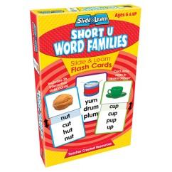 Vowels Short U Word Families Slide
