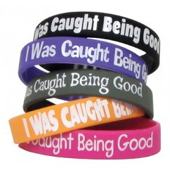 I Was Caught Being Good Wristbands