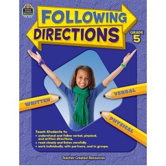 Following Directions Gr 5