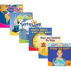 Little World Geography Books Set Of